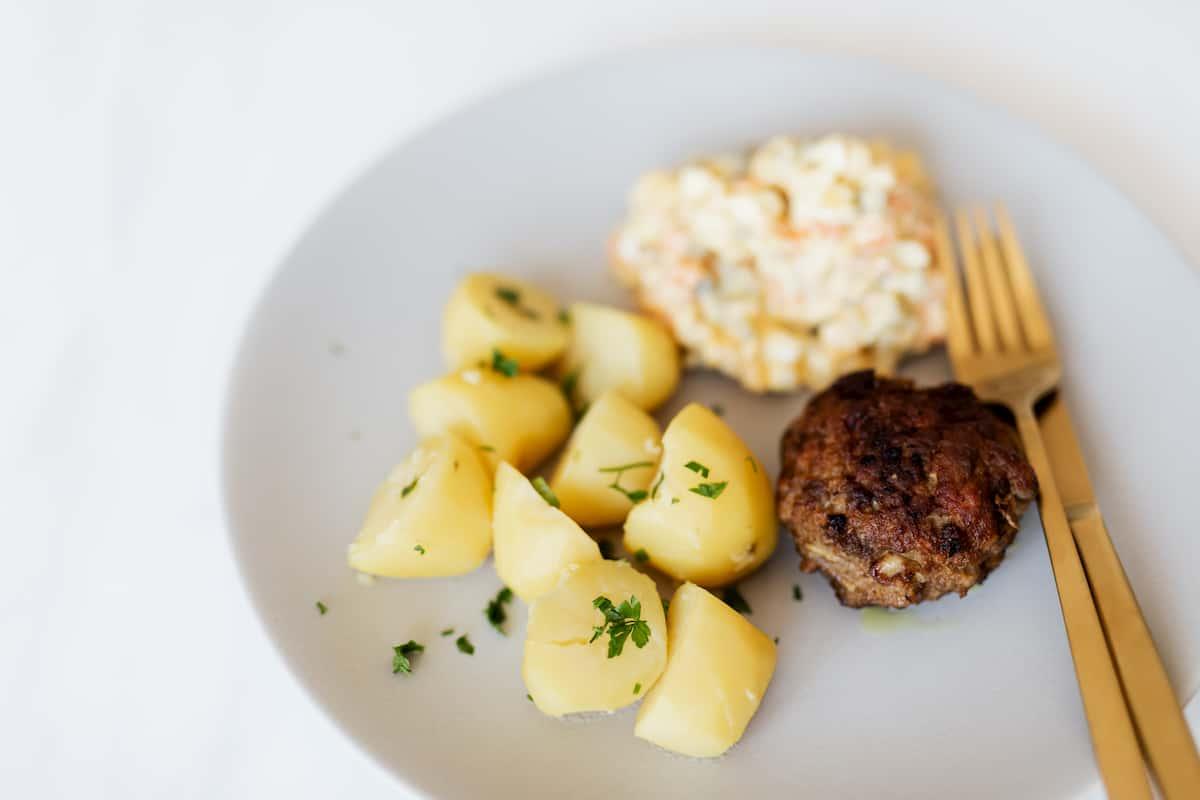 potato peels recipe