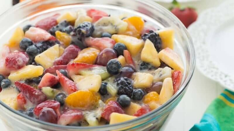 My time at portia fruit salad Recipe