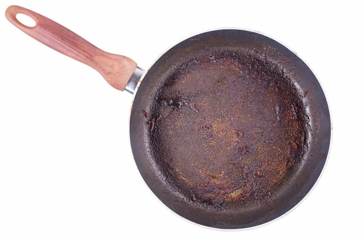 Degradation of non-stick pans
