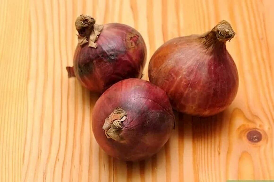 How to determine if the onions are spoilt