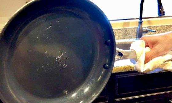 non-stick cookware repair spray