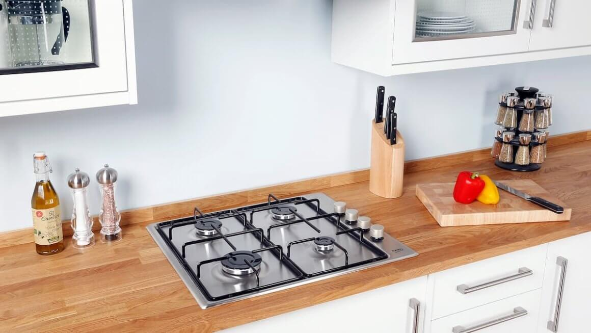 Easy Installation Of Stainless Steel Gas Cook tops