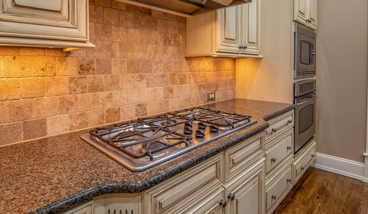stainless steel gas cook tops