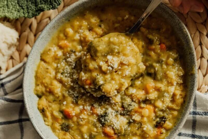 Correct way to cook lentil soup